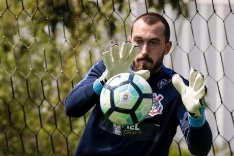 Walter tem contrato com o Corinthians até dezembro de 2019