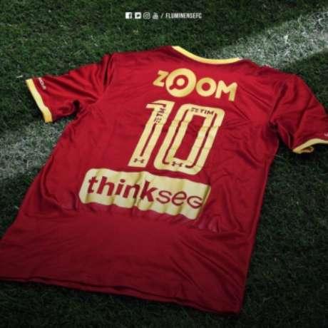 Camisa grená do Fluminense