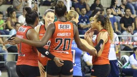 Sesi-SP busca primeira vitória na Superliga feminina Karen Griz/Sesi-SP