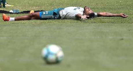 Michel Bastos admite que esperava ter jogado mais em 2017 - FOTO: Cesar Greco/Palmeiras