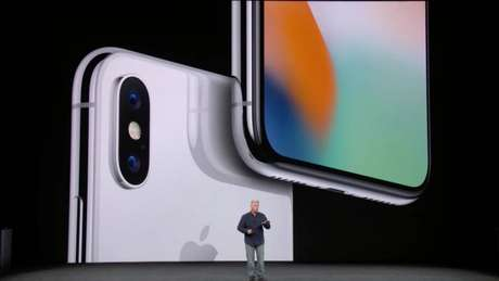 iPhone X câmera