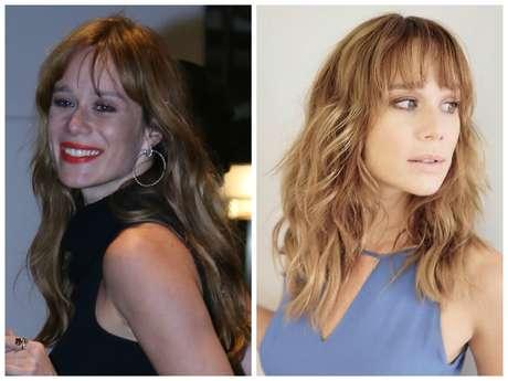 Antes e depois da Mariana Ximenes