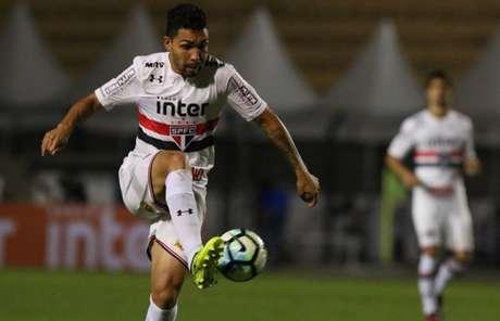 O volante Petros tem 24 jogos pelo Tricolor neste Brasileirão (Rubens Chiri/saopaulofc.net)