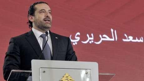 O ex-primeiro ministro libanês Saad Hariri disse que temia por sua vida em seu país e acusou o Irã de promover a desordem e a destruição