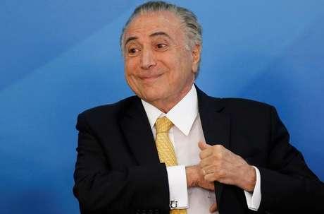 Temer durante reunião em Brasília  12/9/2017   REUTERS/Adriano Machado