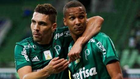 Com mais dois gols de Deyverson, Palmeiras bateu o Sport por 5 a 1, no Allianz (Foto: MARCELLO FIM / RAW IMAGE)