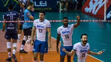Sesc RJ é o terceiro colocado na Superliga masculina Glaucon  Fernandes Eleven 08332e4e7fa70