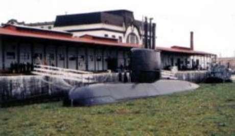 O submarino San Juan, da Armada Argentina, que está desaparecido