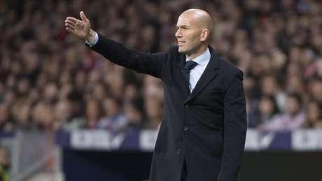 Real Madrid ficou apenas no empate com o Atlético (Foto: AFP/CURTO DE LA TORRE)