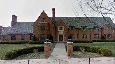 Casa da fraternidade Beta Theta Pi na Universidade Estadual de Pensilvânia