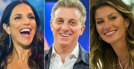 Uma cantora, um apresentador e uma top model: os atores de novelas não aparecem entre os mais populares.