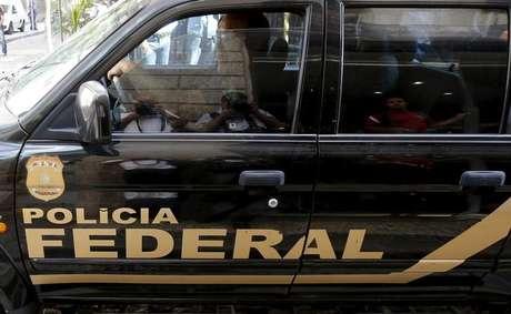 Viatura da Polícia Federal, no Rio de Janeiro 28/07/2015 REUTERS/Sergio Moraes