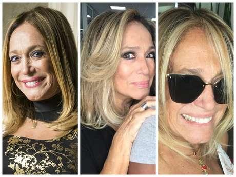 Visuais de Susana Vieira (Fotos: Mauricio Fidalgo/TV Globo/Divulgação - Instagram/Reprodução)