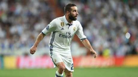 Carvajal em ação pelo Real Madrid (Foto: AFP)