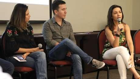 Patrícia Ellen, Leandro Machado e Ilona Szabó começaram o grupo no ano passado