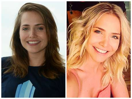 Sophie Charlotte muda o visual e fica loiríssima
