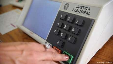 Urna eletrônica brasileira