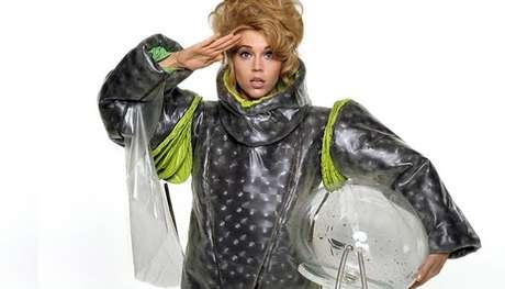 Jane Fonda como Barbarella, no filme de 1968 (Foto: Reprodução)