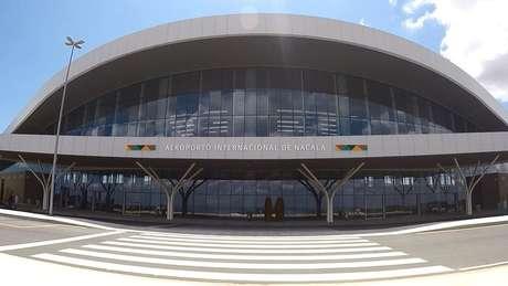 Inaugurado em 2014, o Aeroporto Internacional de Nacala é o segundo maior e o menos movimentado do país africano, com apenas dois voos comerciais por semana | Foto: Amanda Rossi/BBC Brasil