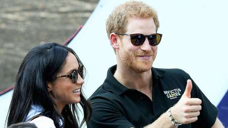 Em setembro, Meghan e Harry apareceram juntos pela primeira vez no evento esportivo Invictus, em Toronto, onde ela mora