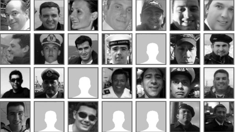 Tripulação do submarino é formada por 43 homens e uma mulher