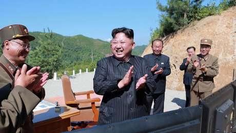 Declaração da Coreia do Norte de que 'todo o território continental' dos Estados Unidos estaria ao alcance do míssil balístico Hwasong-15