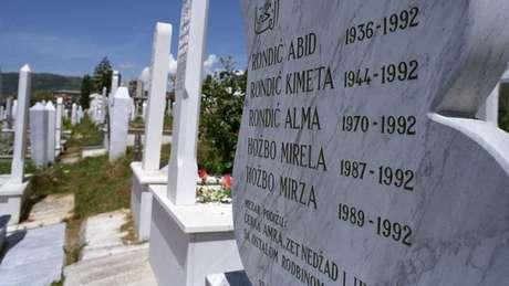 Tribunal Penal Internacional da Guerra da Bósnia foi instaurado em 1993 para julgar atrocidades cometidas no conflito