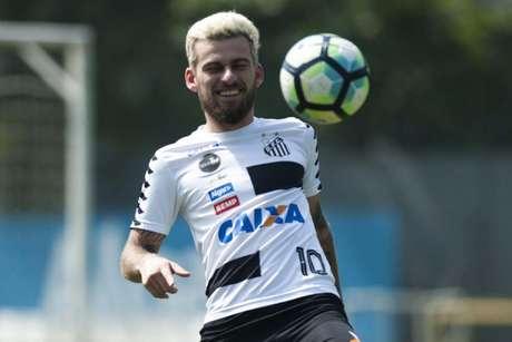 Lucas Lima é o novo reforço do Palmeiras (Foto: Ivan Storti/Santos)