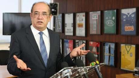 Gilmar Mendes, relator do caso, já se disse favorável à redução das ações judiciais na área da Saúde | Foto: TSE/Reprodução