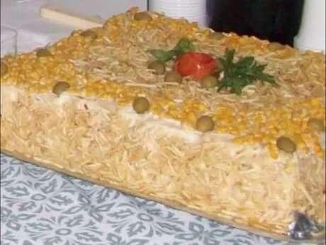 Torta salgada para 200 pessoas