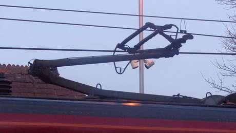Nakatsu se baseou nas penas da coruja para redesenhar o pantógrafo, mecanismo articulado que transmite eletricidade ao trem | Foto: WikiCommons