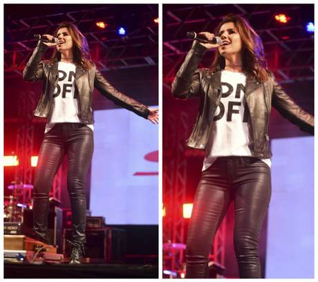 Paula Fernandes (Foto: Leo Franco/AgNews)