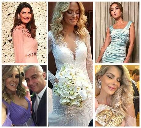 Noiva Ticiane Pinheiro e convidadas (Fotos: Reprodução/Instagram)