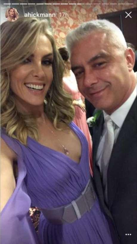 Ana Hickmann e marido (Foto: Reprodução/Instagram/ahickmann)