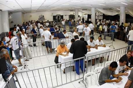 Eleição presidencial do Santos acontece no dia 9 de dezembro (Foto: Ricardo Saibun / Santos FC)