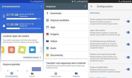 Aplicativo Files Go é capaz de liberar grandes quantidades de espaço em aparelhos Android