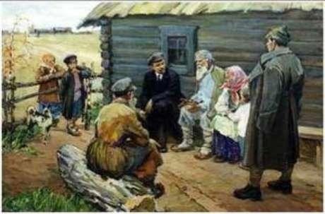 Lenin e os camponeses
