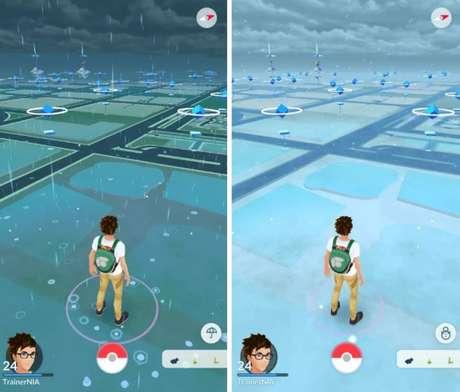 Clima vai gerar mudanças visuais e de jogabilidade em Pokémon GO