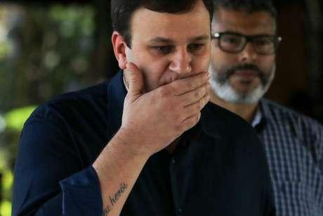 Vinicius Pinotti assumiu o cargo em maio e pediu demissão por divergência com Leco (Foto: Marcello Fim/Raw Image)