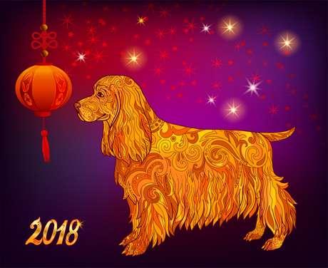 O ano-novo chinês começa no dia 16 de fevereiro de 2018 e é regido pelo cão