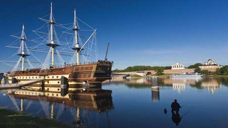 Novgorod prosperou sob domínio viking