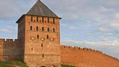 Fortaleza de Novgorod é uma das mais antigas da Rússia