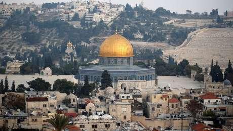 No conflito entre Israel e palestinos, status diplomático de Jerusalém é uma das questões mais polêmicas