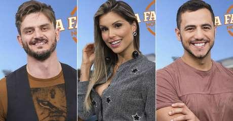 Marcos, Flávia e Matheus: 'A Fazenda' termina com cara de 'Big Brother Brasil'.
