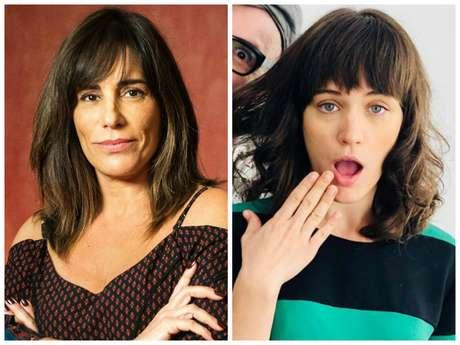Mudança de visual de Gloria Pires e Bianca Bin para novela (Fotos: Raquel Cunha/TV Globo/Divulgação - Instagram/Reprodução)