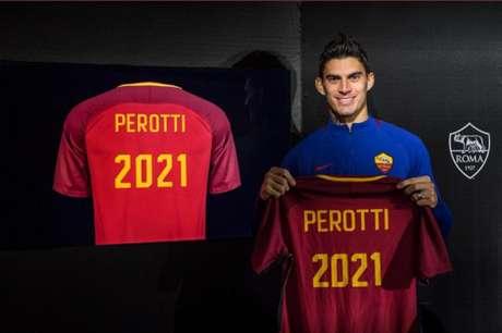 Perotti estendeu o vínculo até junho de 2021 (Foto: Divulgação)