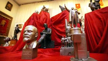 O museu foi visitado por três líderes soviéticos