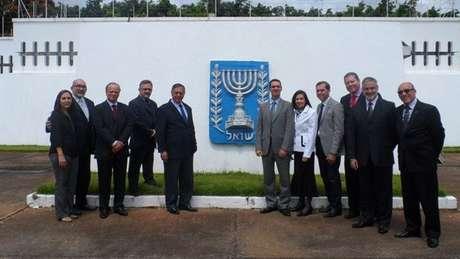 Representantes do Grupo Parlamentar de Amizade Brasil-Israel | Foto: Divulgação/Jony Marcos