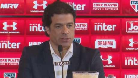 Ídolo aceitou convite para substituir Vinicius Pinotti como diretor executivo de futebol (Frame)