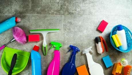 Organização facilita na limpeza da casa